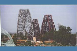 Bridges of Sukkur